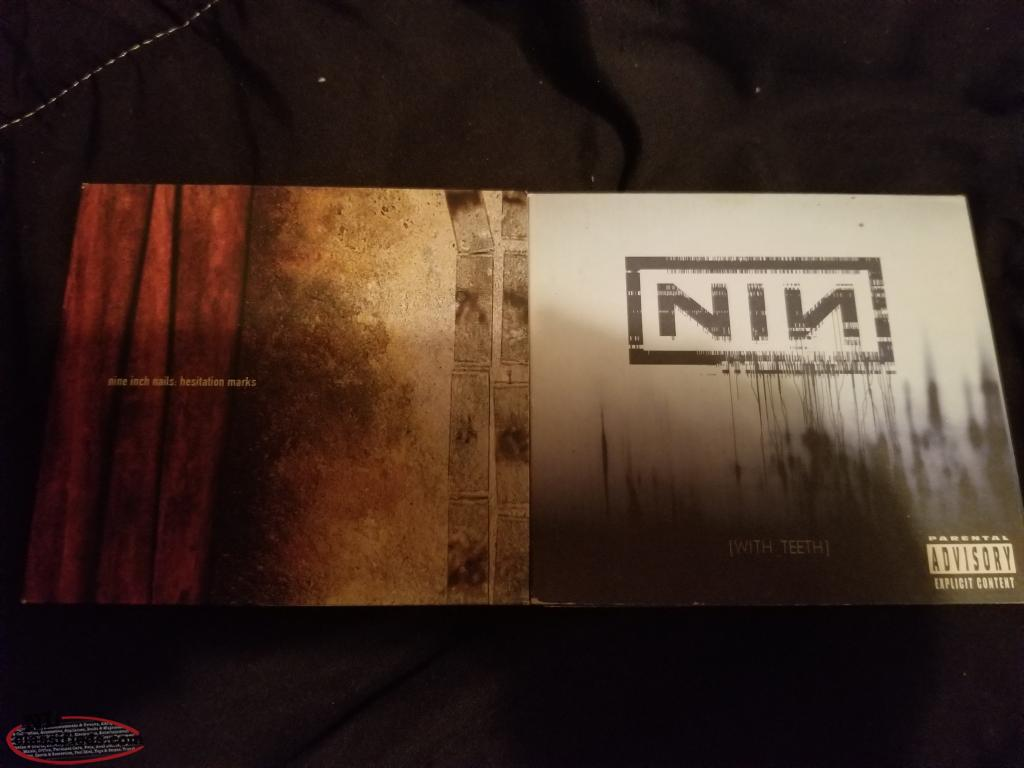 Nine Inch Nails CD cases ONLY - Bonavista, Newfoundland ...