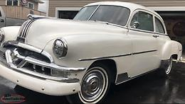 1951 Pontiac chieftain lots of parts chrome , wiring large quantities of items