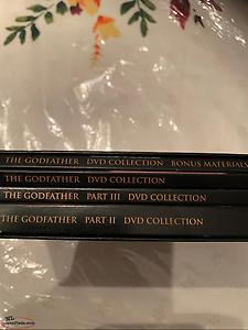 Godfather collection DVD set