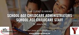 School Age Childcare Staff