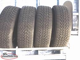 Goodyear winter tires 225/55/17