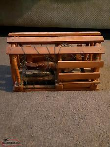 HAND MADE WOODEN LOBSTER TRAP