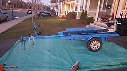 Dual purpose trailer for ATV and boat Excellent Conditions