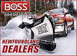 BOSS SNOWPLOWS & SPREADERS - NEWFOUNDLAND DEALERS