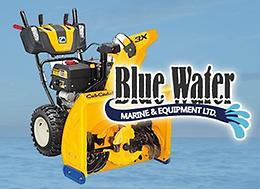 IN-STOCK at Blue Water Marine! Finance a Cub Cadet snow blower as low as 0%