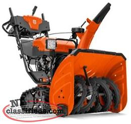 New Husqvarna Hydrostatic Track Drive Snowblowers now on SALE!!
