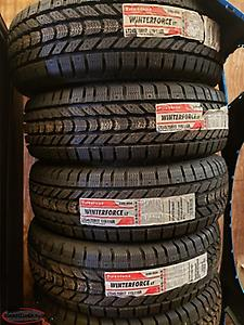 2 sets available! **TAX INCLUDED** LT245/70R17 Firestone Winterforce 10 ply