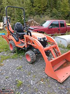 2019 KUBOTA BX23S With tree grabber no taxes great deal!