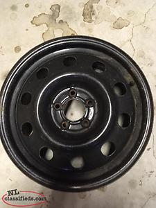 17 inch steel rim Ford Crown Vic.