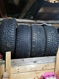 Tires on rims 205/55/16