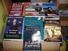 10 Newfoundland Books non-fiction in very good condition