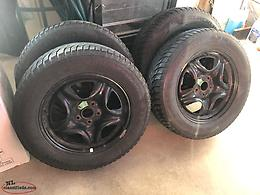 Winter tires and rims 225 65R/17