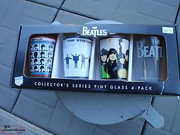 beatles drinking glasses