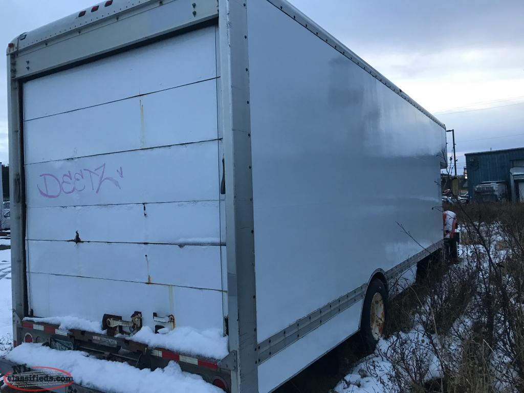 Gmc Box Truck U-haul 6500