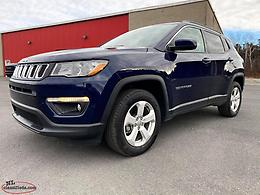 2018 JEEP COMPASS NORTH 4X4 - ONLY 23,000 KM; $160+TAX BW 84 MONTHS!!!