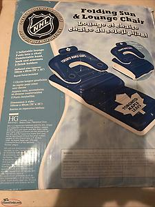 Toronto Maple Leafs Inflatable lounge chair