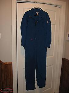 Fire Rated Coveralls Size Small like new