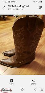 Cowgirl Boots, Size 10, New!