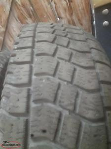 2 lt26575r16 winter tires