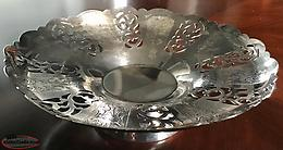 Vintage Wm Rogers Silver Footed Dish