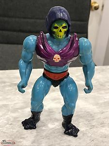 Vintage 1985 Masters of the Universe Terror Claw Skeletor