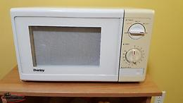Microwave oven for sale.