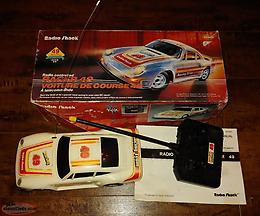 Vintage Radio Controlled Porsche Car