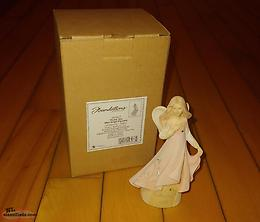 Thank You Mini Angel Figurine (New)
