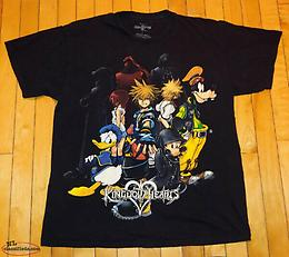 Disney Kingdom of Hearts Shirt