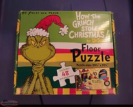 Dr. Seuss How the Grinch Stole Christmas Large Floor Puzzle