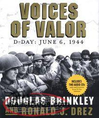 D-Day Voices of Valour by David Brinkley Book & 2 Cd's WWII
