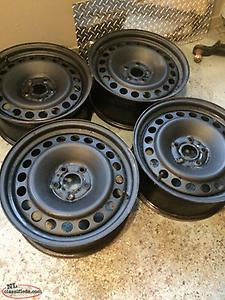 Ford Edge 17 inch steel rims