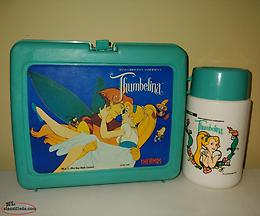 Vintage Thumbelina Lunch Box and Thermos
