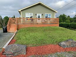Excellent 3 bdrm home with unfinished basement in Goulds