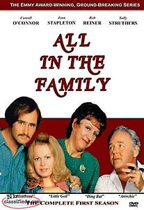 All In The Family - Complete First Season (NEW 3-DVD Set) with Archie Bunker
