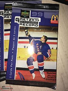 McDonald a hockey cards