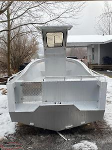 NEW 18' ALUMINUM BOAT WITH HARDTOP CENTRE CONSOLE