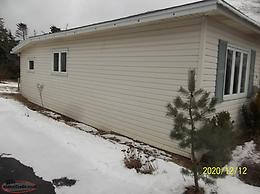 REDUCED PRICE FOR 2ND TIME!!!! WHITE VINYL COVE SIDING