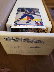 90-91 Upper Deck hockey
