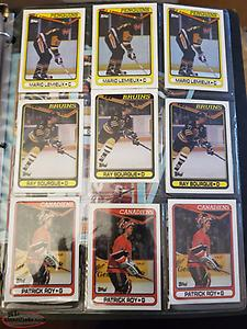 1990-91 Topps hockey cards