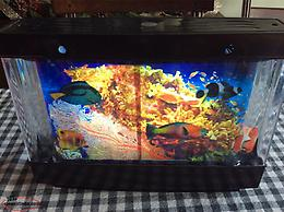 Electric Fish Tank And Lamp