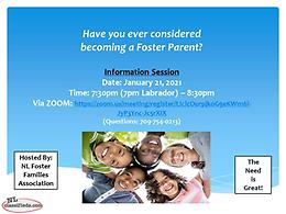 Have you ever considered becoming a foster parent?