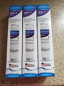 WSG-3 Refrigerator water filter 3 pack