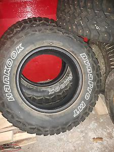 3 Winter Tires (studded)