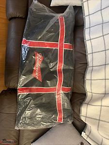 New Budweiser Adult Hockey Bag
