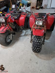 looking to trade 2 Honda atc 200 E Big Reds