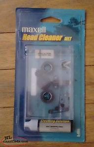 Maxell Cassette Deck Head Cleaner - NEW