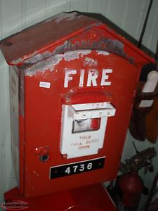 2 OLD FIRE BOXES