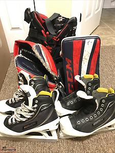 Hockey Goaltender Gear for sale!