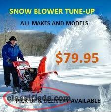 SNOW BLOWER TUNE UP SPECIAL
